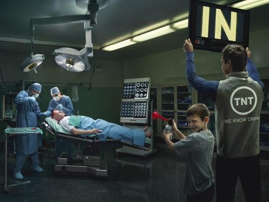 TNT Print Ad -  Operating room