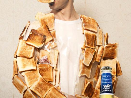 Carlton Dry Outdoor Ad -  Toast