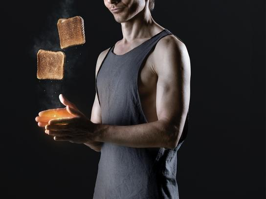 Bigg Crossfit Print Ad -  Toast