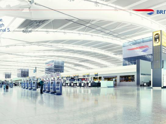 British Airways Print Ad -  To Fly. To Serve, 2