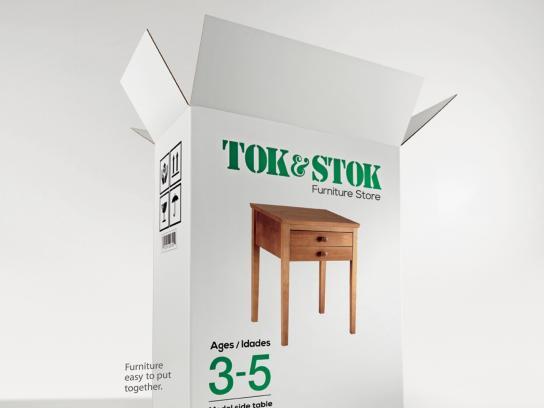 Tok & Stok Print Ad -  Ages, 2
