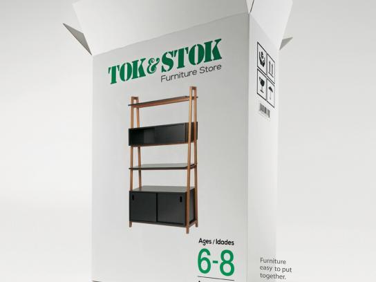 Tok & Stok Print Ad -  Ages, 3