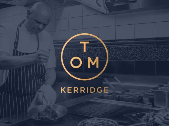Tom Kerridge Design Ad - Brand Identity