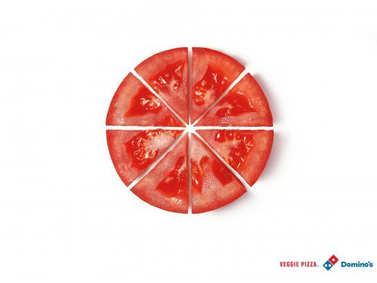Domino's Pizza Print Ad -  Tomato