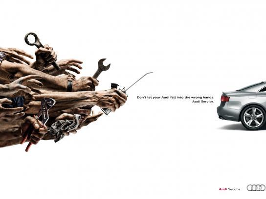 Audi Print Ad -  Tool