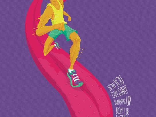 Topfit Fitness Club Print Ad -  Lazy