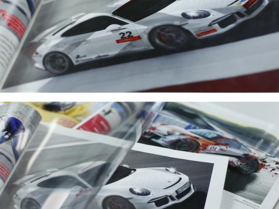 Porsche Print Ad -  Top gear