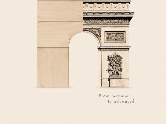 Aliança Francesa Print Ad -  Arc De Triomphe