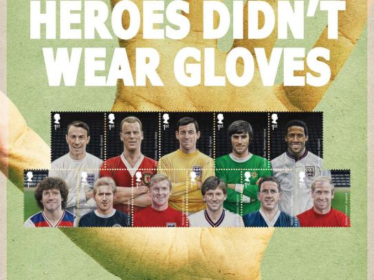 Royal Mail Print Ad -  Real Heroes, 2