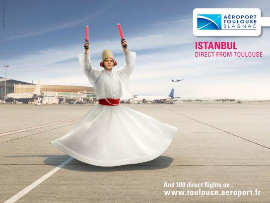 Toulouse Airport Print Ad -  Istanbul