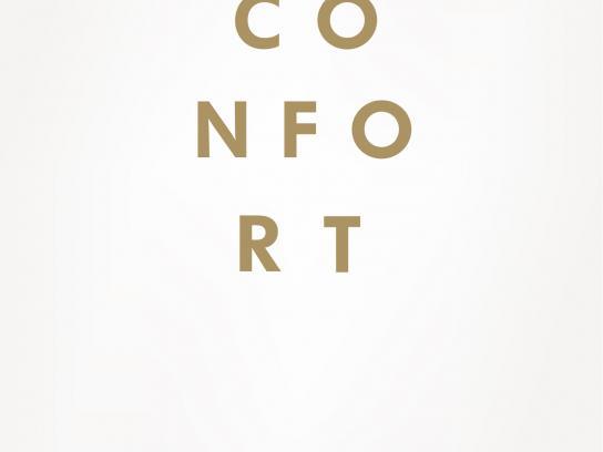 Volkswagen Print Ad -  Comfort