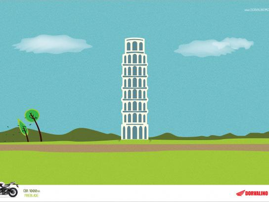 Honda Print Ad -  Tower