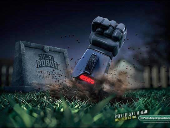 ParkShopping Print Ad -  Robot