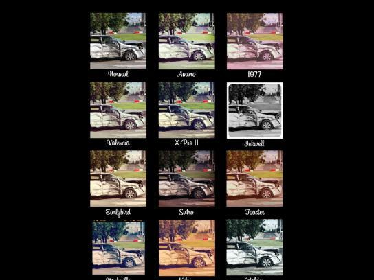 Toyota Print Ad -  Instagram