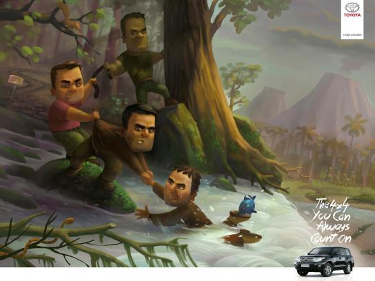 Toyota Print Ad -  Jungle