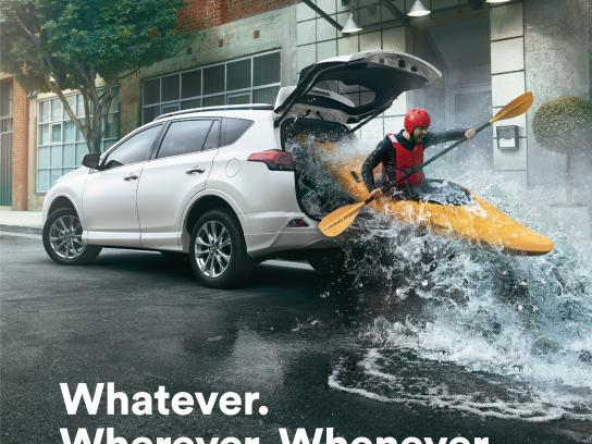 Toyota Print Ad - Adventure anywhere