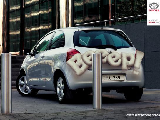 Toyota Print Ad - BEEEP