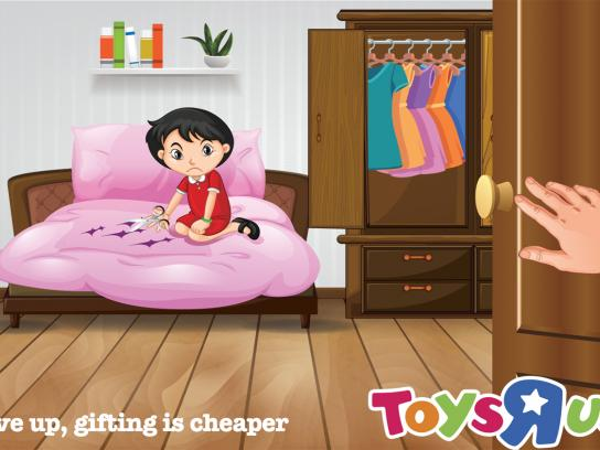 "Toys ""R"" Us Print Ad - Give Up, Gifting is Cheaper, 1"