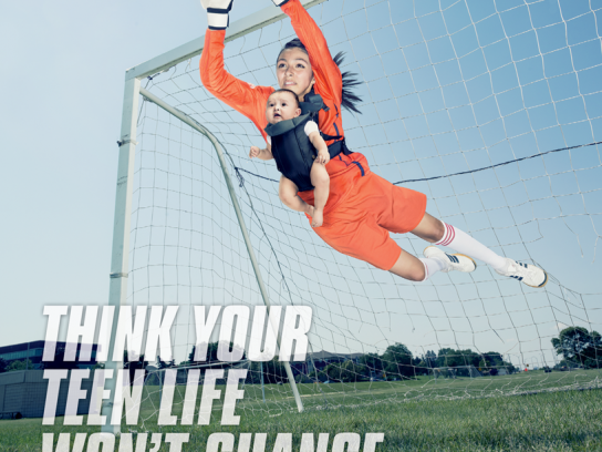 Adolescent Health Project Outdoor Ad - Soccer