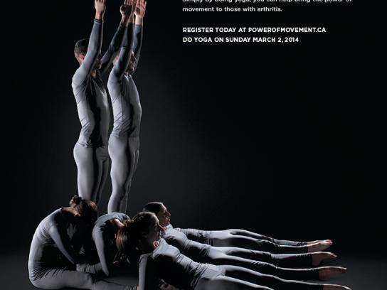 Arthritis Research Foundation Print Ad -  Karma