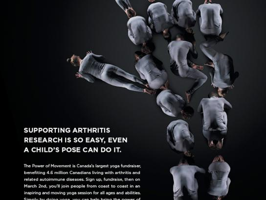 Arthritis Research Foundation Print Ad -  Child