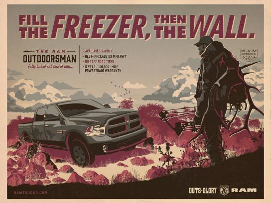 Dodge Print Ad -  Hunting
