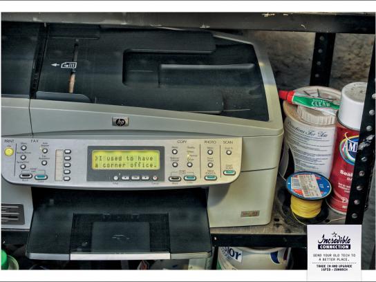Incredible Connection Print Ad -  Printer