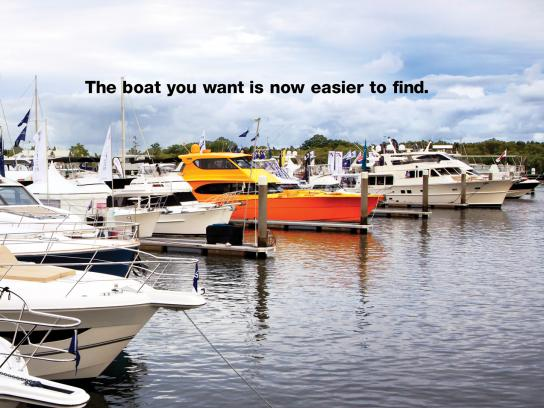 Trader Classifieds Print Ad -  Fluoro Boat