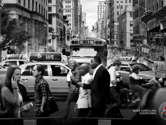 Sony Print Ad -  Traffic