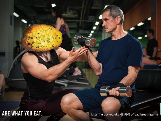 Listerine Print Ad - Trainer