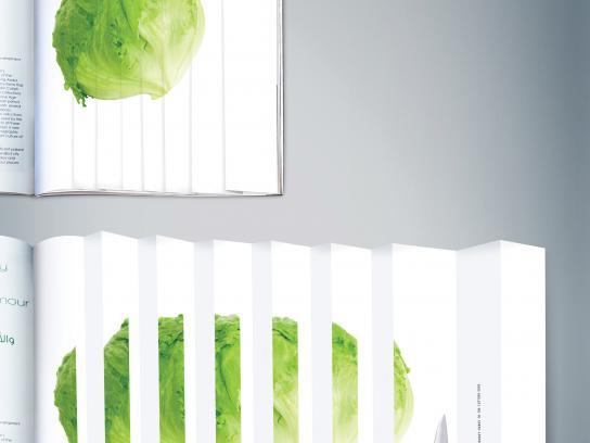 Tramontina Print Ad - Cutting edge - Lettuce