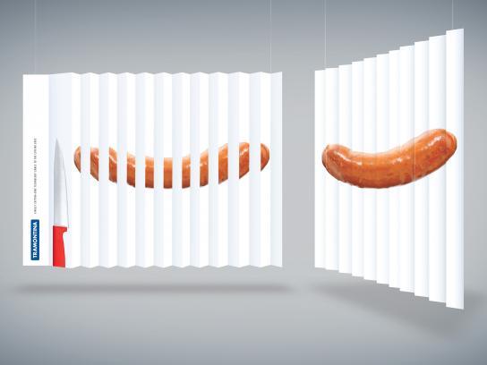 Tramontina Outdoor Ad - Cutting edge - Sausage