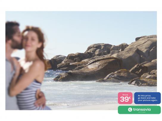 Transavia Airlines Print Ad - #VeryBadPic - Beach