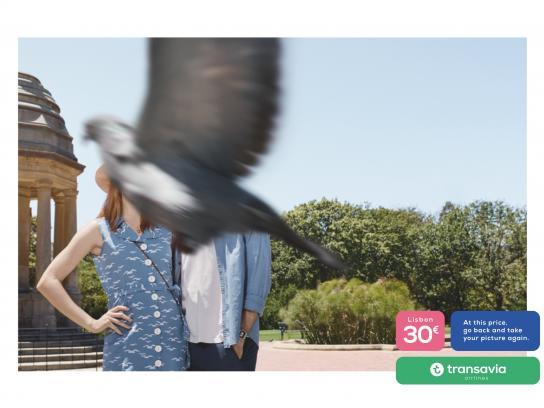 Transavia Airlines Print Ad - #VeryBadPic - City