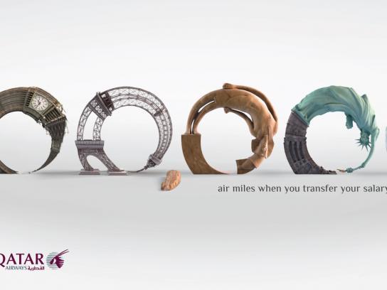 Barwa Bank Print Ad -  100,000 miles
