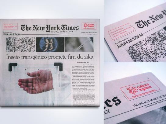 Cultura Inglesa Print Ad -  Translation