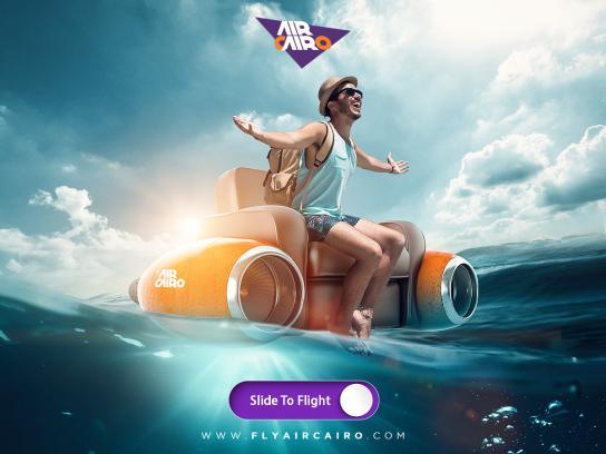 Air Cairo Print Ad - Travel Mood, 2