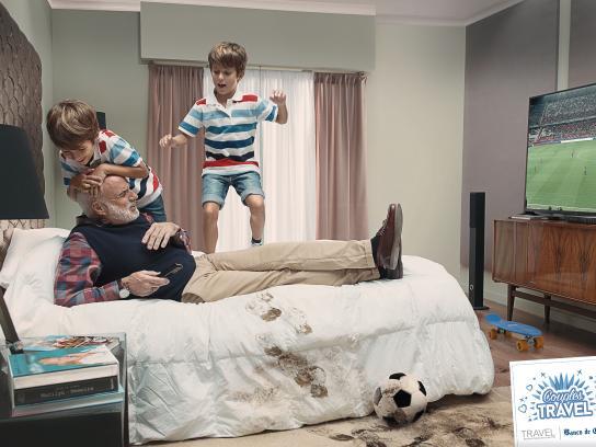 Banco de Chile Print Ad - Granddad