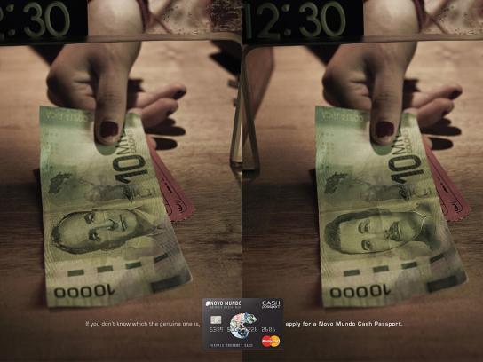 Novo Mundo Print Ad -  Costa Rica