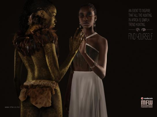 Mozambique Fashion Week Print Ad -  Hunting