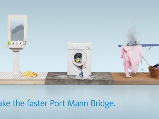 TReO Toll Bridge Outdoor Ad -  Tantrum