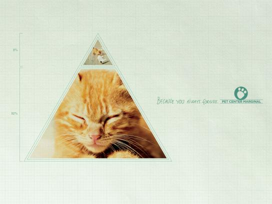 Pet Center Marginal Print Ad -  Triangle