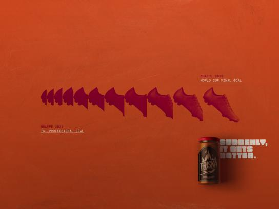 Triska Print Ad - Mbappe