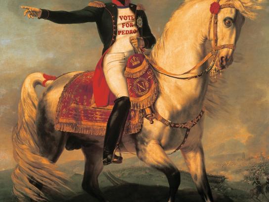 Hasbro Print Ad -  Napoleon Dynamite-Bonaparte