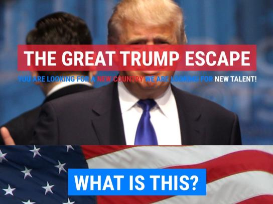 Round & Round Digital Ad - The Trump Escape