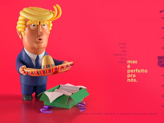 Salvation Army Print Ad - Unwanted Gifts  - Donald Trump