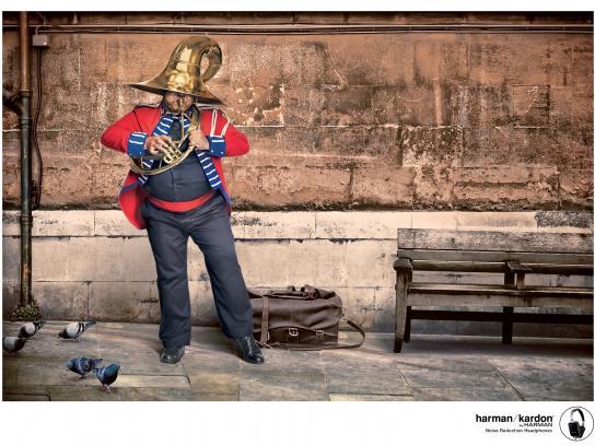 Harman Print Ad -  Trumpet