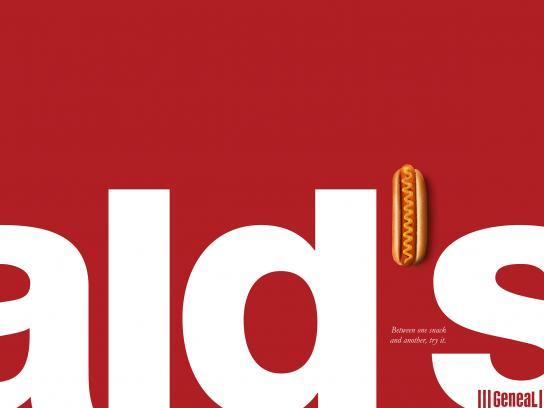 Geneal Print Ad - McDonald's