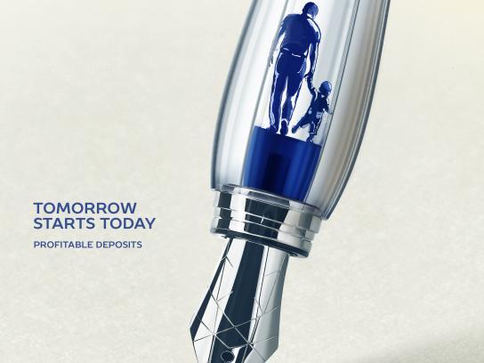 TsesnaBank Print Ad - Tomorrow Starts Today, 2