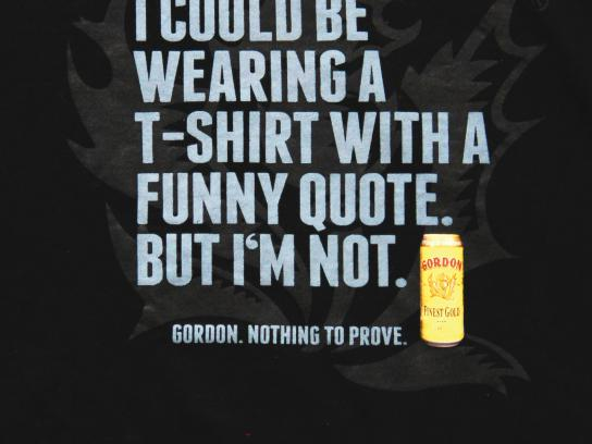 Gordon Finest Beers Outdoor Ad -  Quote